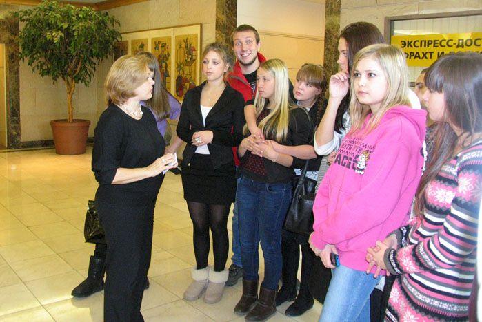 Первокурсники направления «Туризм» изучили систему управления отелем «Хенде»