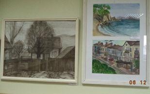 Выставка картин представлена в библиотеке филиала ФГБОУ ВПО «ВГУЭС» в г. Находке