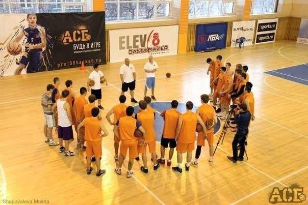 Игрок баскетбольной команды ВГУЭС - лучший центровой матча всех звезд Ассоциации студенческого баскетбола