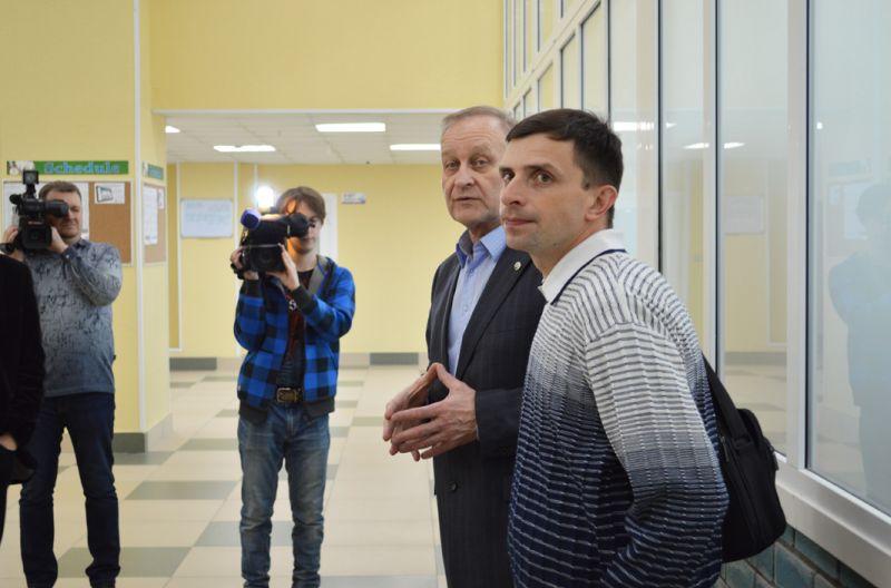 Геннадий Лазарев отвечает на вопросы гостей