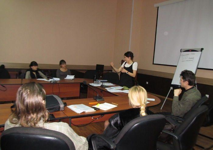 Завершилась третья неделя занятий по курсу «Основы инновационного предпринимательства»