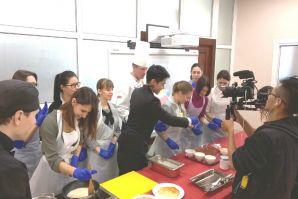 Тьюторы МШГМ провели мастер-класс для телеканала «Asia Travel  Channel»
