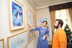 Русская зима на полотнах воспитанников художественной школы ШИОД