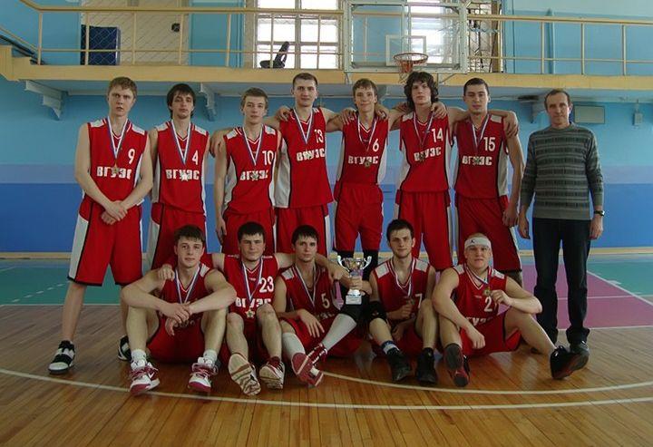 Баскетбольная команда ВГУЭС не перестает радовать своими победами