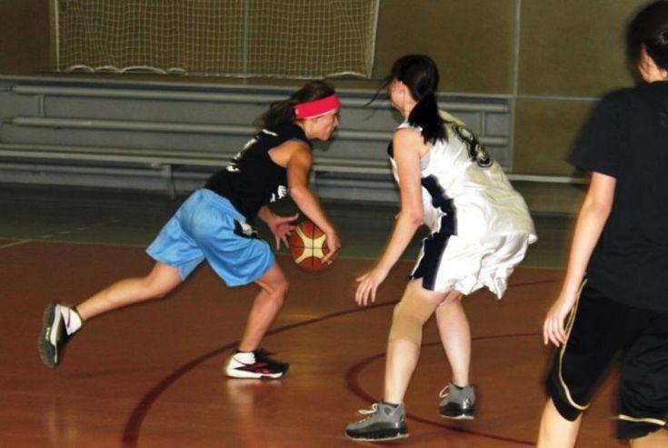 Первое место по стритболу среди юношей