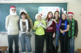 Конкурс на лучшее знание Рождественских традиций (ШИОД им. Дубинина, г. Владивосток)