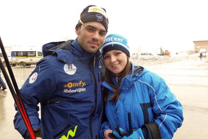 Волонтеры ВГУЭС поддерживали с трибун российских спортсменов