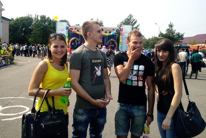 Студенты ВГУЭС приняли участие в Сорочинской ярмарке