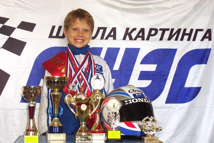 Юный пилот «Восток Карт ВГУЭС» Василий Краснокутский принес своей команде «серебро»