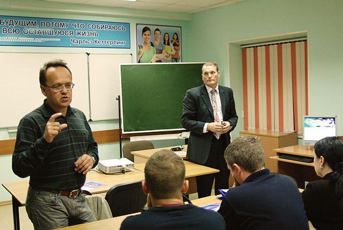 Ученый из Финляндии провел семинар во ВГУЭС