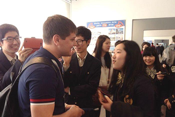 Институт иностранных языков ВГУЭС встречает гостей из Республики Корея