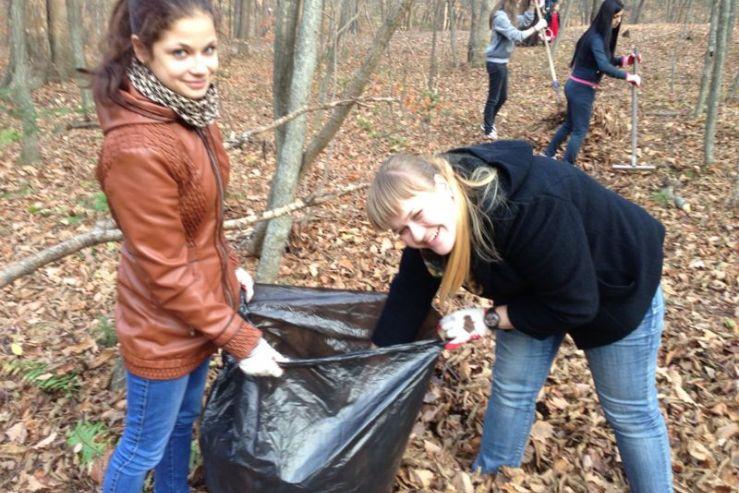 Социальная практика студентов-экологов