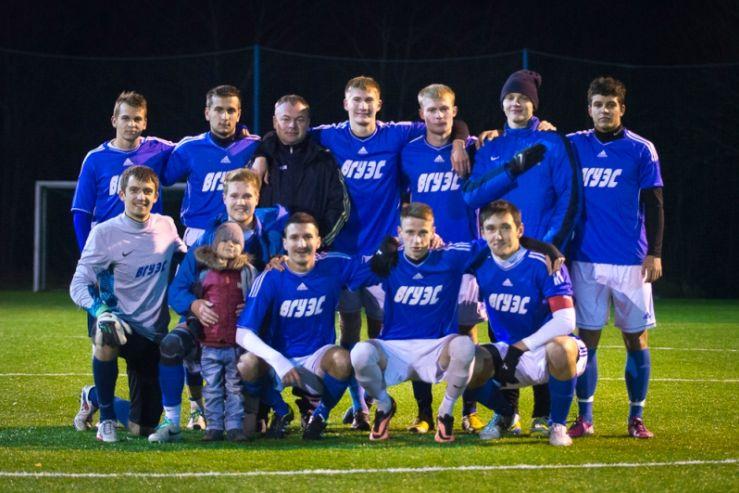 ВГУЭС - обладатель кубка Владивостока по футболу