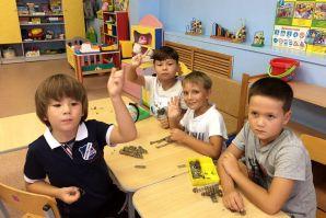 Мой первый день в детском саду