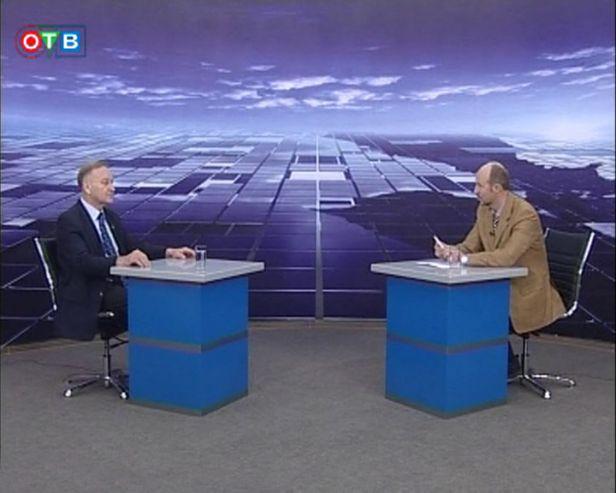 Смотрите на канале «ОТВ-Прим»: ректор Лазарев отвечает на вопросы о настоящем и будущем университета