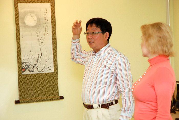 Автор Японского сада камней ВГУЭС посетил Владивосток и рассказал студентам о принципах его создания