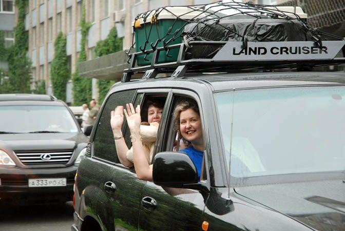 Автопробег ВГУЭС 2010: первые 2 тысячи километров пройдены!