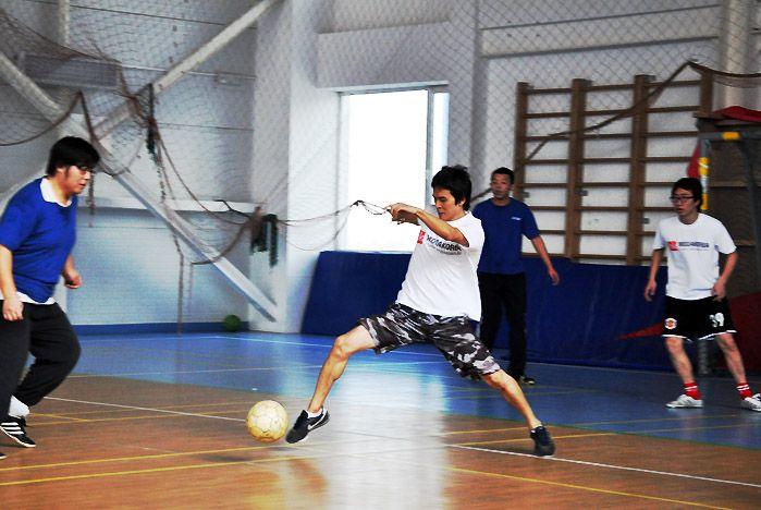 Международный футбольный праздник прошел во ВГУЭС
