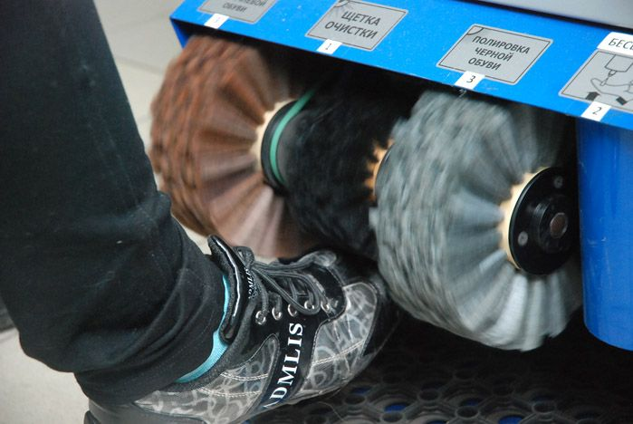 «Shoe Shine» появился в Зимнем саду ВГУЭС: предпринимательство – приветствуется!