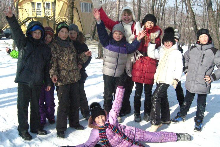 Традиционно в конце зимы в ШИОД прошел день здоровья