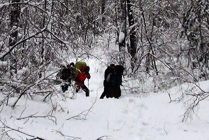 Учеба на снегу турклуба «Сплав»