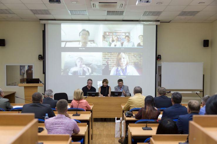 На видеоконференции во ВГУЭС обсудили создание Первого международного благотворительного фонда-блокчейна