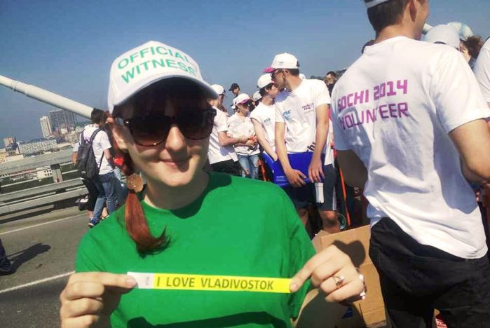 Волонтеры ВГУЭС помогли установить мировой рекорд