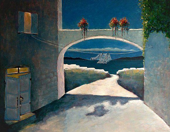 Выставка Василия Красюка «Немного света на холсте» (живопись, графика)
