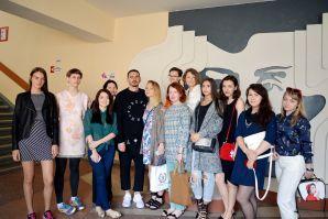 Одна из ключевых персон модного бизнеса – Артем Кривда провел мастер-класс во ВГУЭС