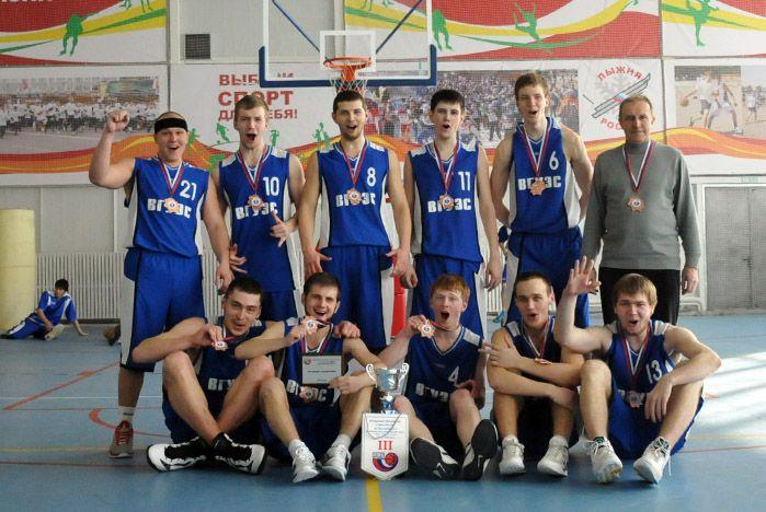 Баскетболисты ВГУЭС взяли бронзу на Открытом чемпионате ДВФО и Сибири среди мужских команд