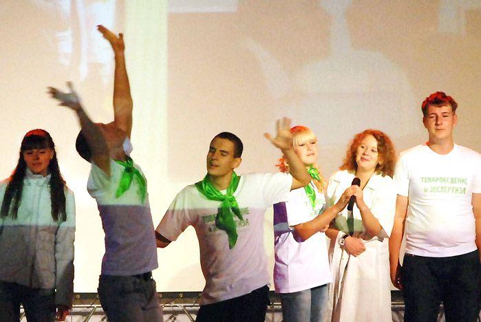 В ИМБЭ ВГУЭС прошел праздник посвящения в студенты
