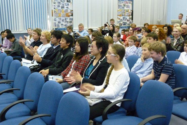 Школу-интернат посетили школьники из Японии в рамках программы по обмену