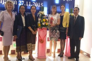 VSUES and National University of Laos opened joint educational center in Vientiane