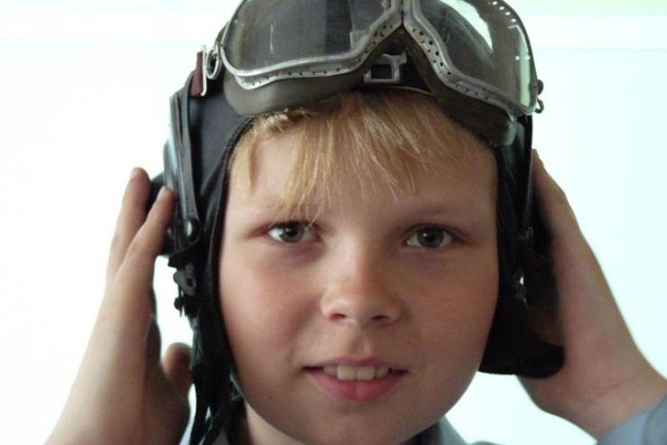 Ученики международного отделения школы совершили поход к упавшему самолету времен Великой Отечественной войны